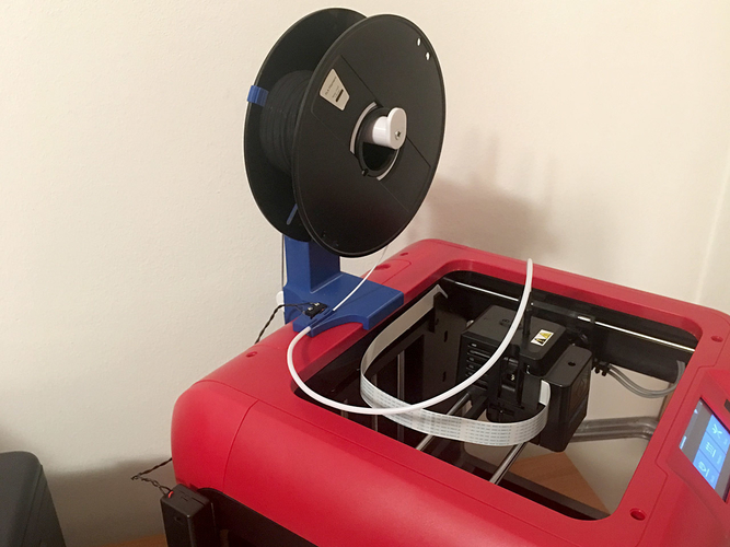 FlashForge Finder - Definitive Spool Holder Stand 3D Print 238194