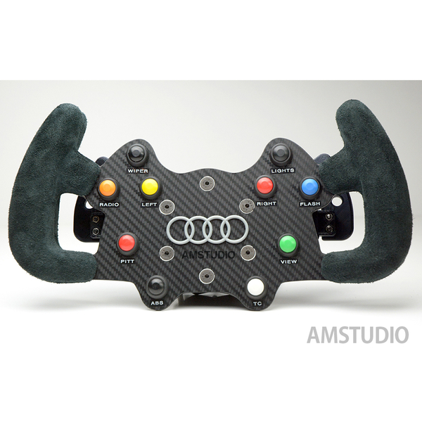 Medium DIY Audi DTM Steering Wheel by AMSTUDIO 3D Printing 238198