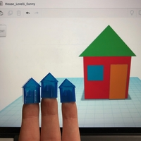 Small House Level 1 with Tinkercad 3D Printing 238397