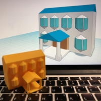 Small House Level 4 with Tinkercad 3D Printing 238405