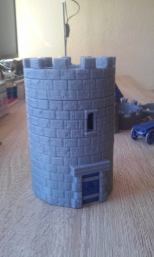 Modular Watchtower - WarGames - Scenary - UPDATE 3 3D Print 238433