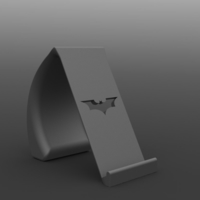 Small Batman Phone Holder 3D Printing 238469