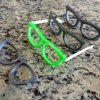 Small Waytoofar Sunglasses Remix 3D Printing 23874