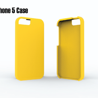 Small iPhone 5 Case 3D Printing 23902