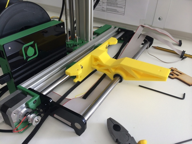 One-piece Ormerod bed support. 3D Print 23903