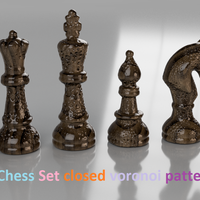 Small Classical Chess (Шахматы) -remix- 3D Printing 239030