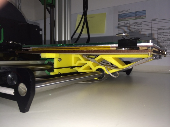 One-piece Ormerod bed support. 3D Print 23905