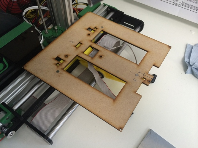 One-piece Ormerod bed support. 3D Print 23908