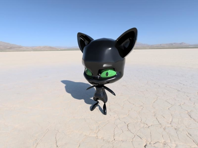 Plagg, the character from Miraculous Ladybug 3D Print 239103