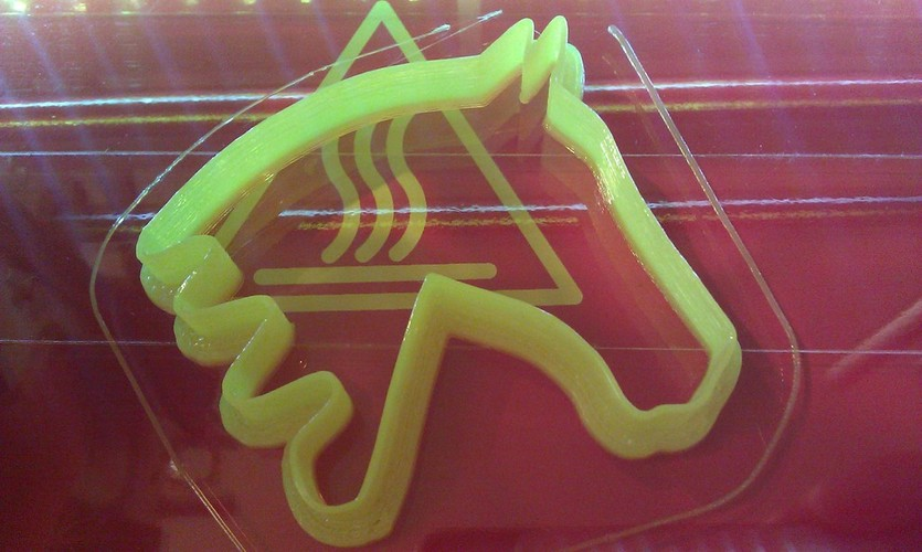 Horse Cookie Cutter 3D Print 23938