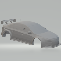 Small chevrolet cruze race car  3D Printing 239423