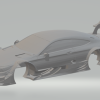 Small mercedes amg dtm  3D Printing 239429