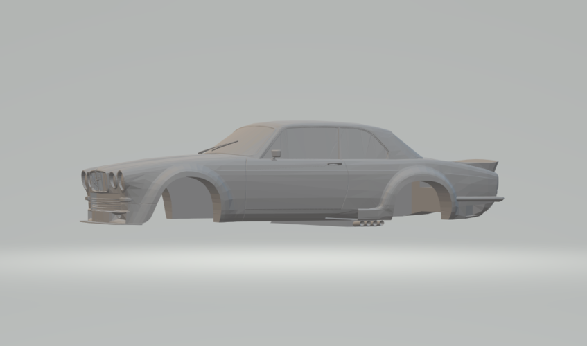Jaguar_Broadspeed_XJC_ 3D Print 239478