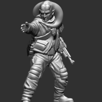 Small Insurgent Squad Leader 3D Printing 239505
