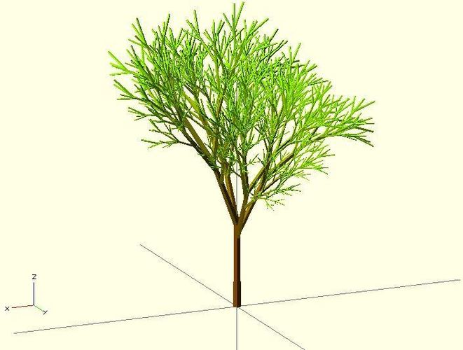 Completely Random Tree 3D Print 23970