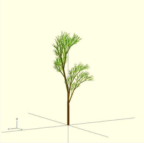 Completely Random Tree 3D Print 23975