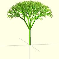 Small Recursive Tree 3D Printing 23979