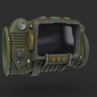 Small Fallout 3 - Pip-boy 3000 3D Printing 239848