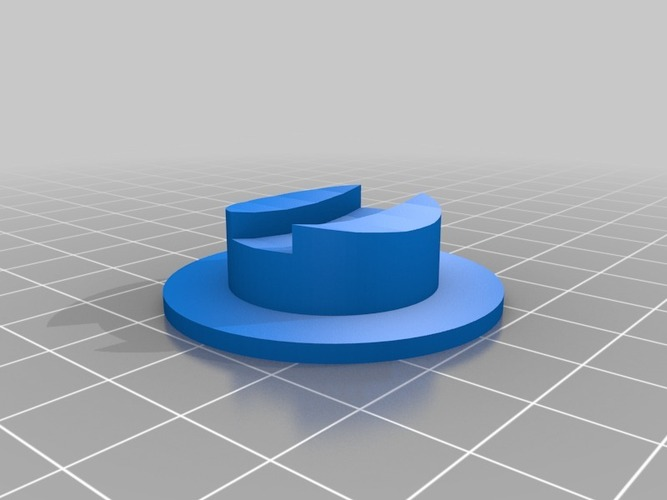 Base for Customizalbe Atom 3D Print 23991