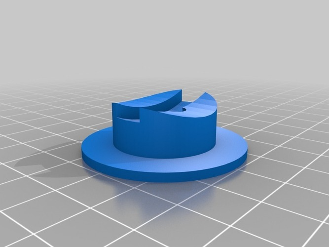 Base for Customizalbe Atom 3D Print 23995