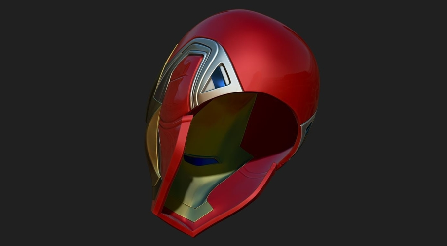 IRONMAN HELMET - MARK 85 version - from Infinity war - End game