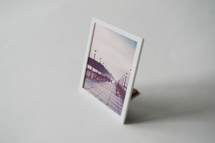 Square Floating Photo Frame 3D Print 24044
