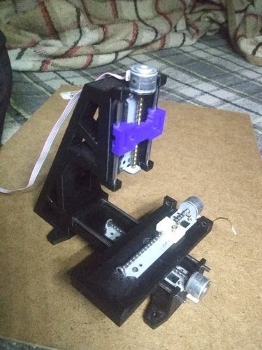 3D Printed Mini CNC Mill by Oscar Chagolla | Pinshape