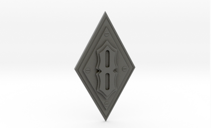 Iron Order 8 Decal 3D Print 24054