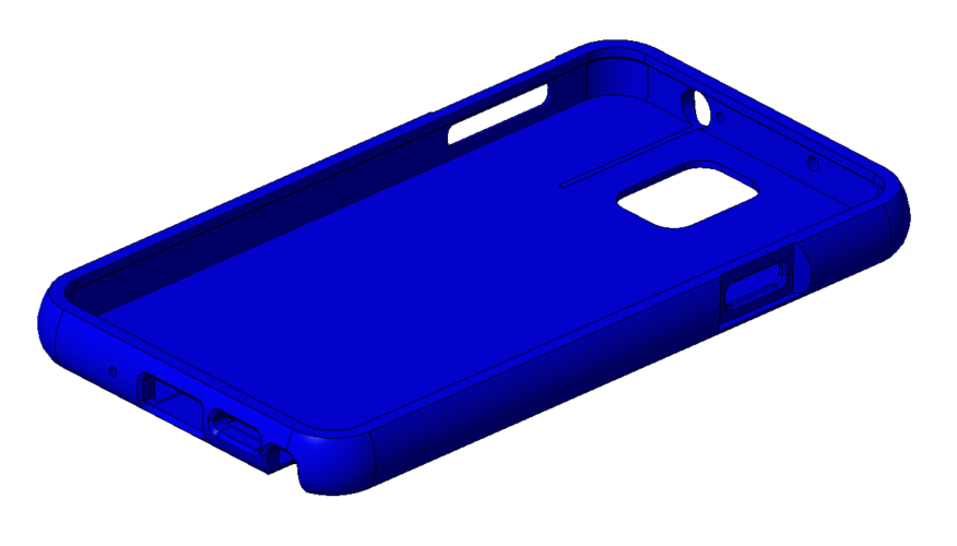 Note 3 rounded edge case 3D Print 24063