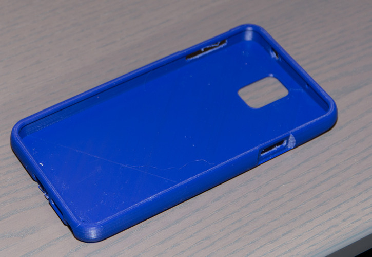 Note 3 rounded edge case 3D Print 24065