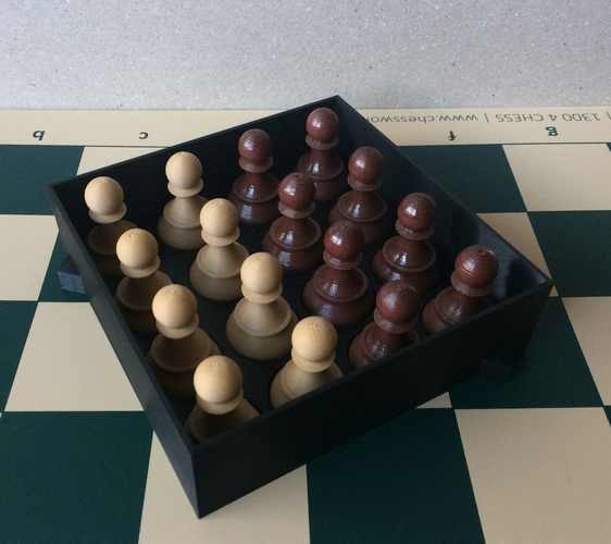 Chess set storage and transport cases 3D Print 240672