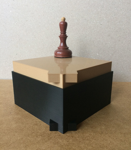 Chess set storage and transport cases 3D Print 240679
