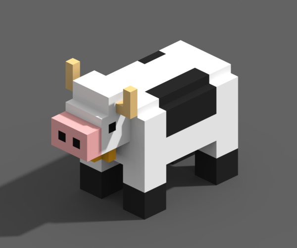 Voxel Animals 3D Print 240696