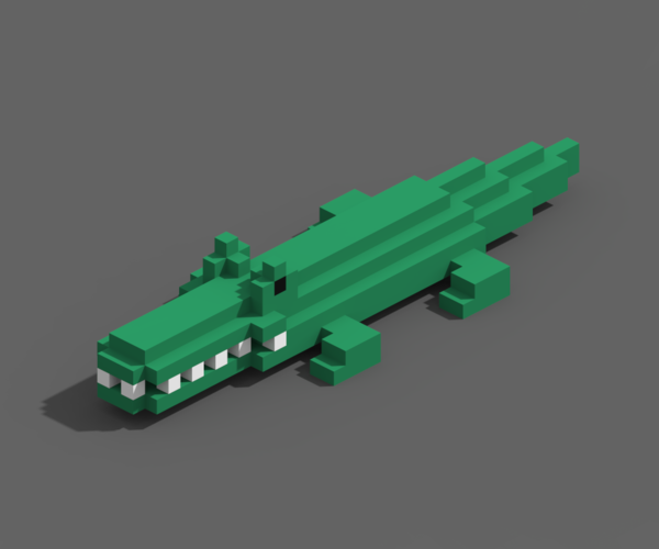 Voxel Animals 3D Print 240697