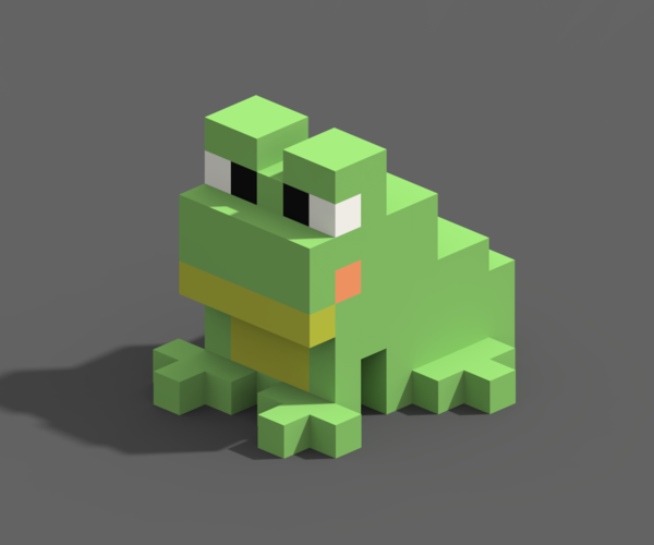Voxel Animals 3D Print 240701