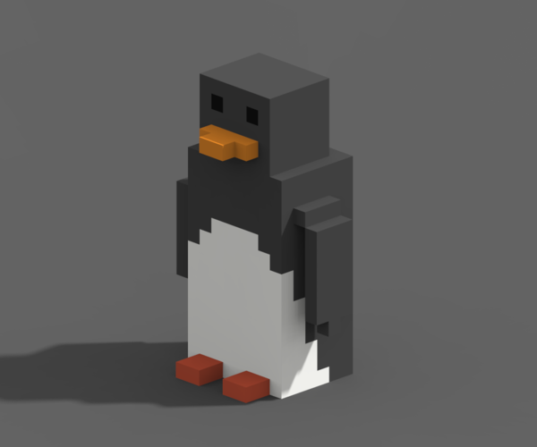 Voxel Animals 3D Print 240708