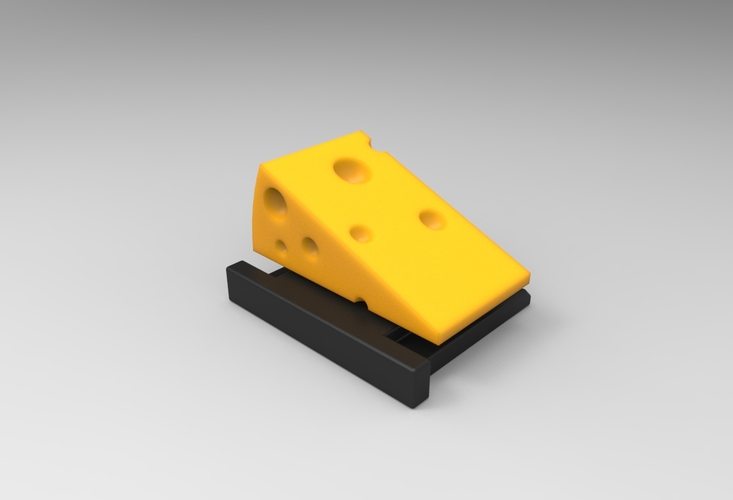 Say Cheese! (HotShoe Cover / v0.9) 3D Print 24071