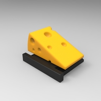 Small Say Cheese! (HotShoe Cover / v0.9) 3D Printing 24071