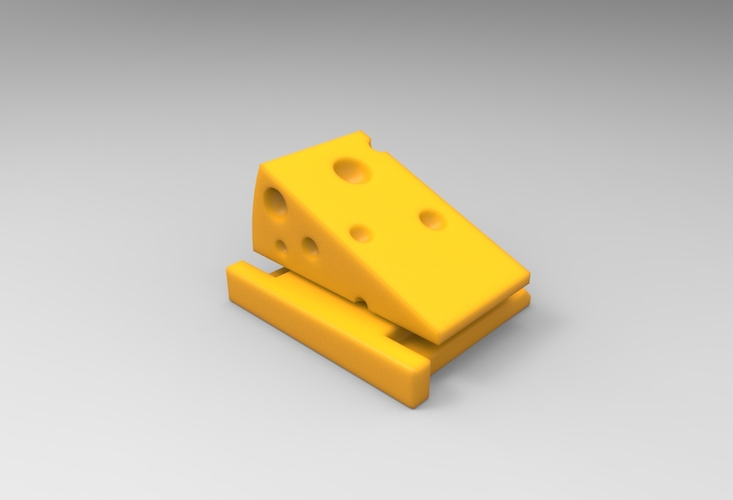 Say Cheese! (HotShoe Cover / v0.9) 3D Print 24073