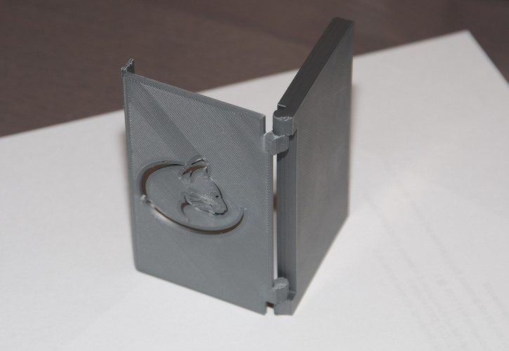 Folding Business card holder 3D Print 24085