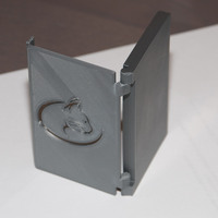 Small Folding Business card holder 3D Printing 24085
