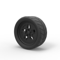 Small Diecast Wheel from Hoonicorn RTR 3D Printing 240907
