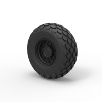Small Diecast Wheel from Roller-compactor 3D Printing 240938