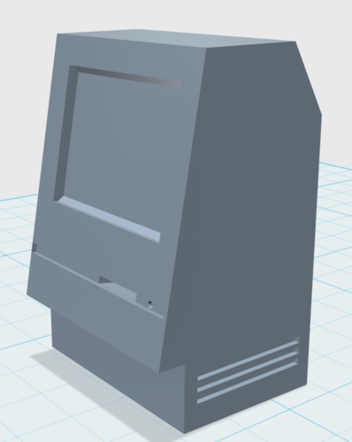 Classic Apple Mac Computer 3D Print 24094