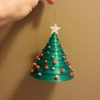 Small 3D Christmas Tree 3D Printing 24110