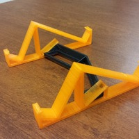 Small Tablet Stand for iPad, Nook, Kindle, Etc. 3D Printing 24112