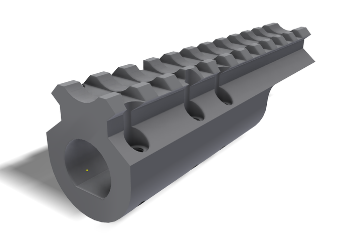 3d Printed M14 Front Rail By Martin Lund1