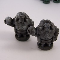 Small Pocket-Tactics Elves of the Shining Host 3D Printing 2412