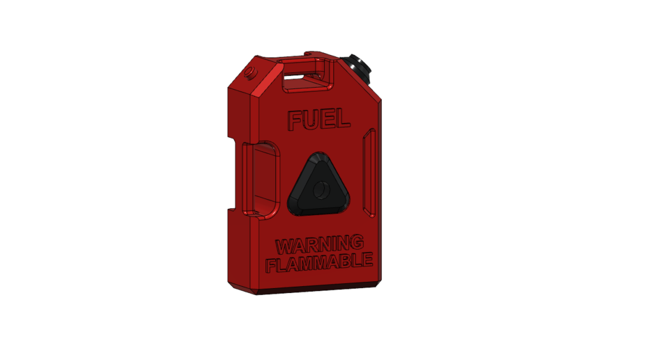 Fuel can set v3 scale 1/10 3D Print 241203