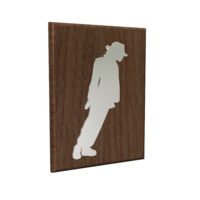 Small Michael Jackson Smooth Criminal Painting 3D Printing 241222